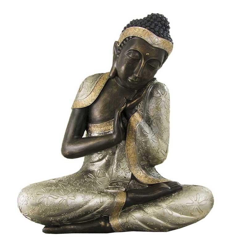 figura buda tailandes de resina