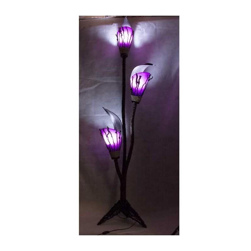 Lamparas de pie para salon comprar online lampara de pie for Lamparas rusticas baratas