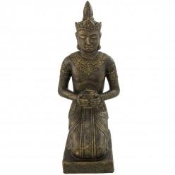 Buda tailandés meditando de piedra