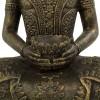 Buda jardín de piedra en color oro