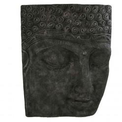 Relieve de cara buda gigante en piedra