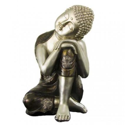 Buda Thai descansando de resina