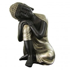 Estatua budista de resina