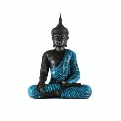 Buda thai con vestimenta color turquesa
