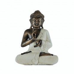 Buda thai mudra vitarkaa color blanco