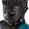 Buda thai mudra vitarkaa color turquesa