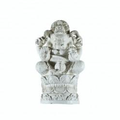 Figura Ganesha de color beige