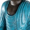 Estatua buda mudra varada color turquesa
