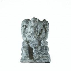 Figura de Ganesha en color piedra