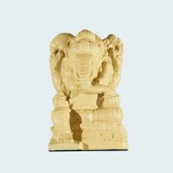 Figura de Ganesha en color beige