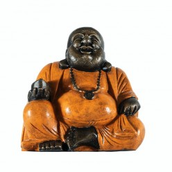 Happy Buda en color naranja