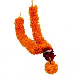 Collar para figuras de buda naranja