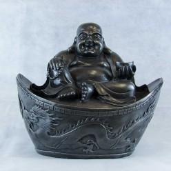 Figura de Buda de la Suerte de resina