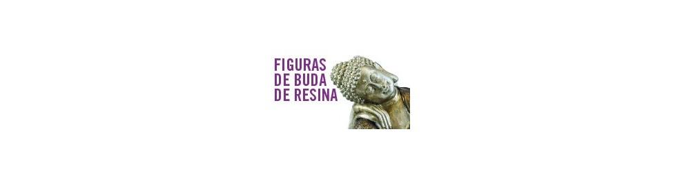 Figuras de Buda de resina