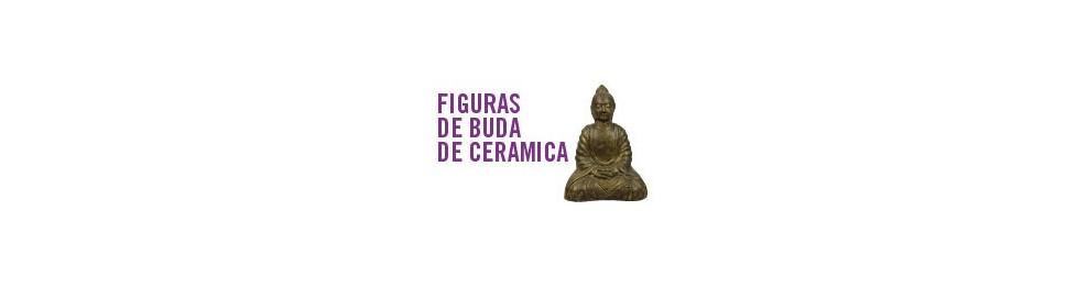 Figuras de Buda de cerámica