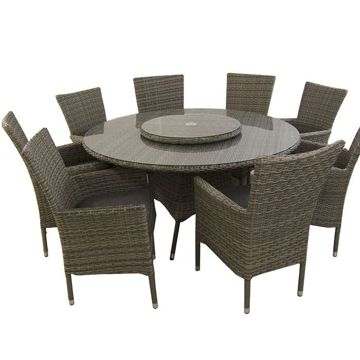 Novedad en muebles de jard n mesa redonda 150cm are for Mesas redondas de jardin