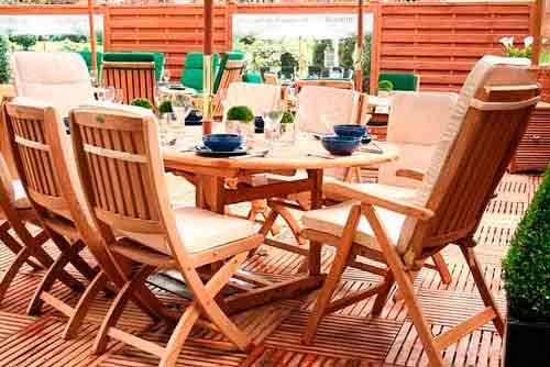 Decora tu jardín con muebles de madera teca - Blog Tienda EDEN de ...